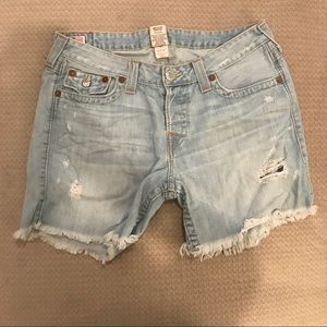 True Religion Shorts - True religion jeans shorts size 31